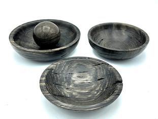 Bog Oak Bowls