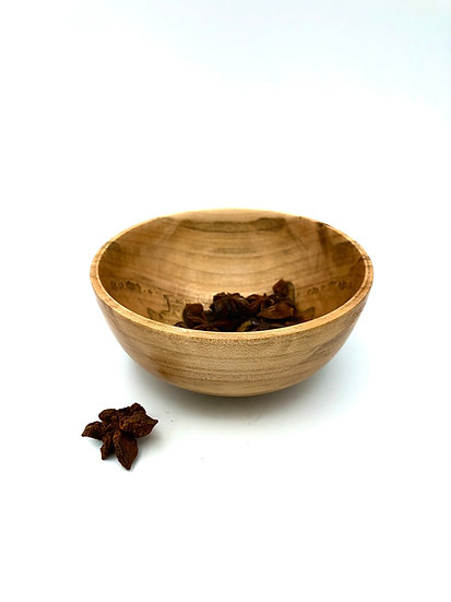 Spalted Maple Spice Bowl
