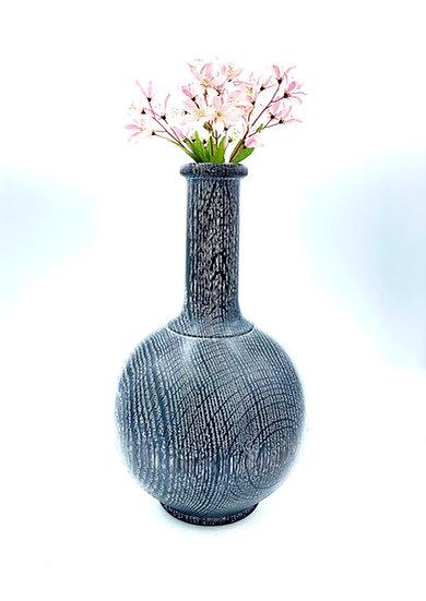 Black Tuxedo Dry Flower Vase