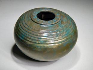 Wood Metal Alchemy Vessel
