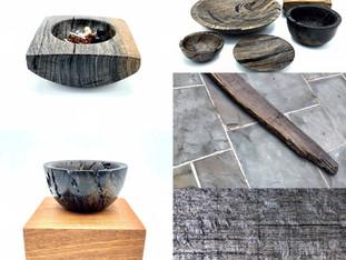 Bog Oak Wood Pieces