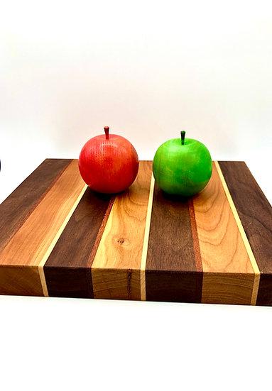 Stripe Wood Cutting Board