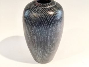 Black and White Oak Vase