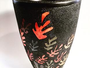 Inspired Falling Leaves Vase