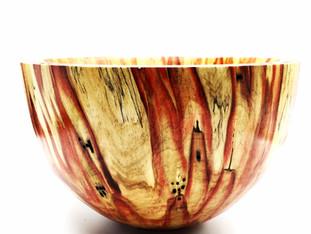 Red Box Elder Bowl