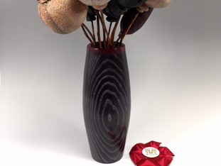 Poppy Seed Pods and Vase