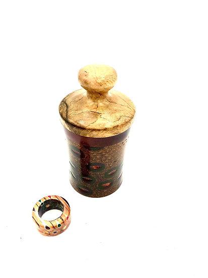 Handmade Banksia Jewelry Box