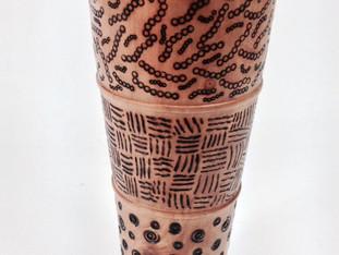 Genesis Wood Vase