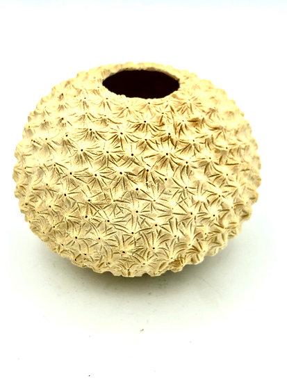 Sea Urchin Coral Sculpture - Wood Art