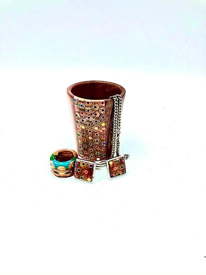 Butternut Jewelry Holder Vase