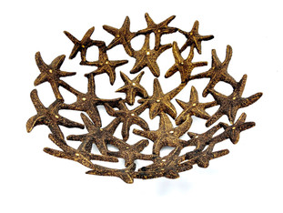 Starfish Wooden Bowl