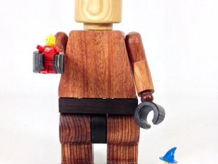 Wood Lego Man