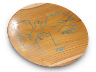 Picasso Inspired Platter