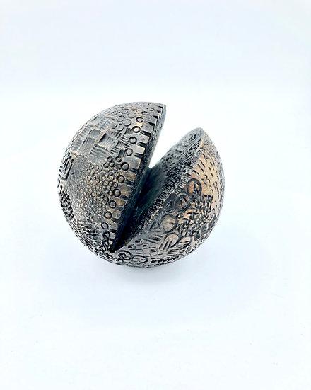 Graphic Wood Sphere