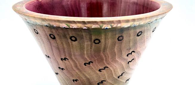 Universe Wooden Vase