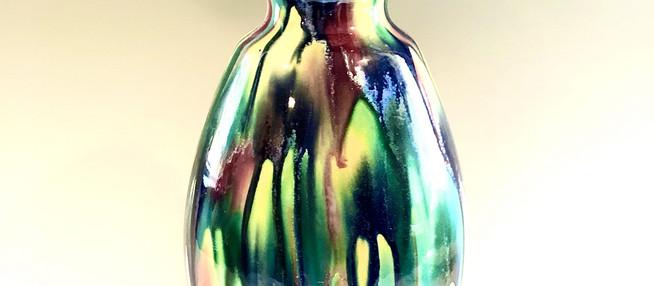 Ceramic Vase Lamp Commission