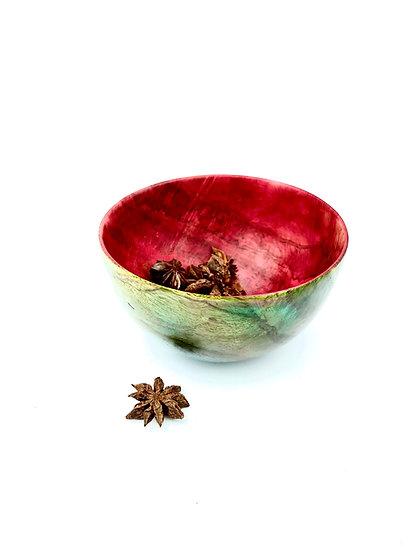Oak Burl Spice Bowl