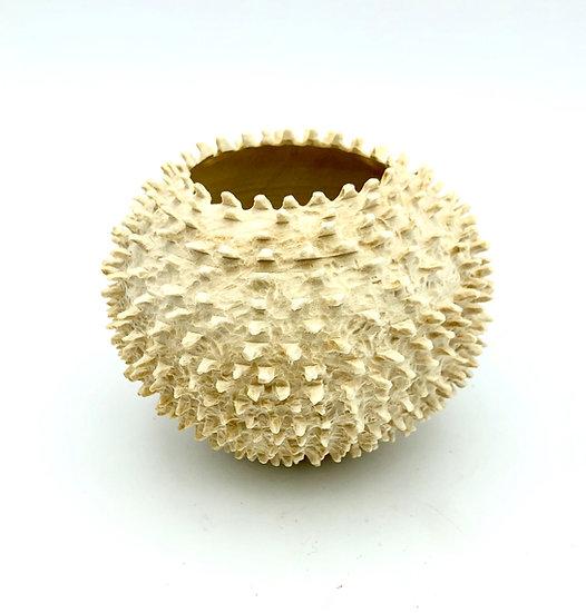 Sea Urchin Wood Sculpture