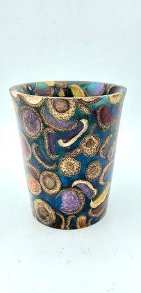 Acorn and Resin Vase