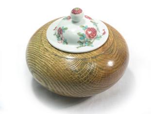 Antique Lid Sugar Bowl