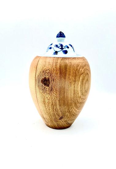 Ambrosia Hollow Form Vase - Jewelry Keeper - Pet Urn - Decorative Vase