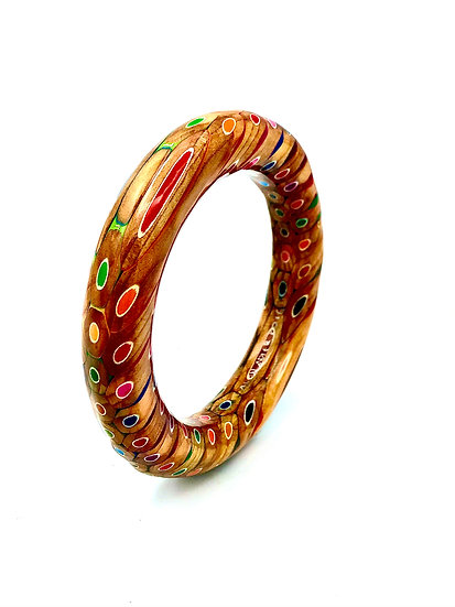 Colored Pencil Bangle