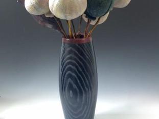 Poppy Seed Pods in Vase