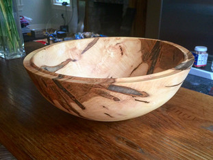 Housewarming Wood Bowl