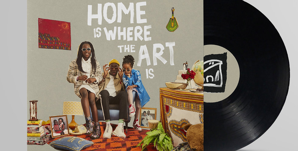 "Barney Artist - 'Home Is Where The Art Is' 12"" Vinyl LP"