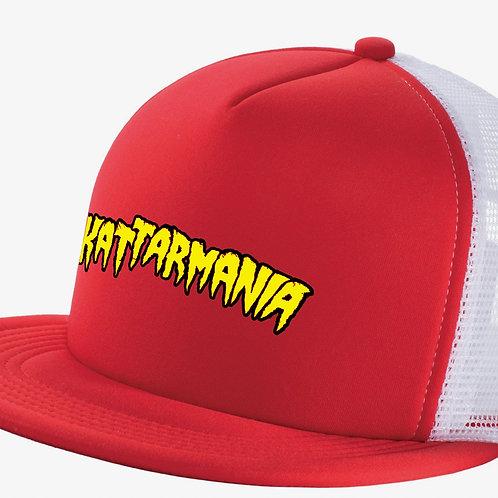 Kattarmania Trucker Hat (Red/White)