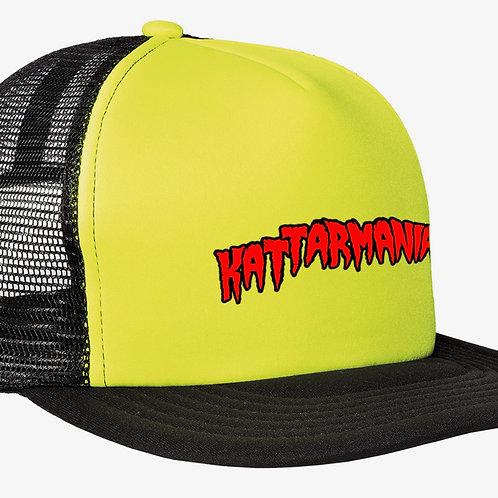 Kattarmania Trucker Hat (Yellow/Black)