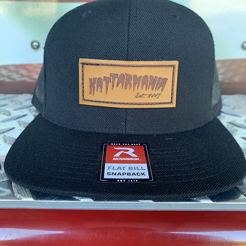 Kattarmania Black on Black Trucker Hat w/ Patch