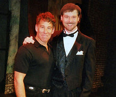 Composers Joe Patrick Ward and Stephen Schwartz