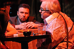 "Joe Patrick Ward and Leslie Jordan in ""Southern Baptist Sissies"""