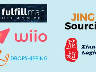 A Detailed Comparison Among Wiio, Fulfillman, Jingsourcing, CJ Dropshipping, Xianchao Logistics