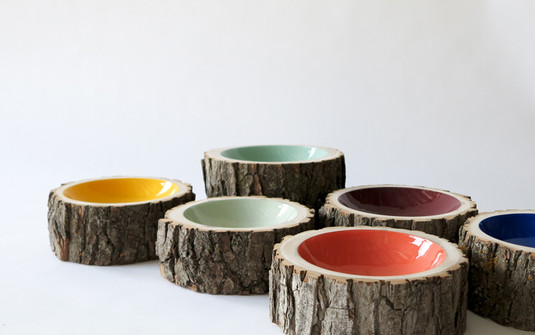 Bowls From Found Wood