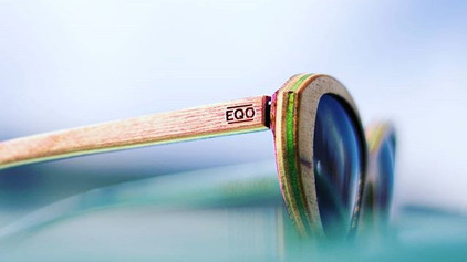 Sunglasses From Recycled Skateboards