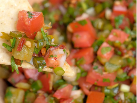 Grill Roasted Scape Salsa
