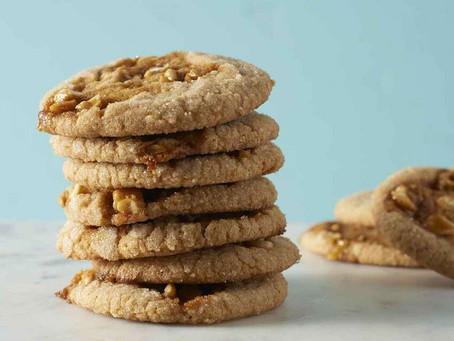 Garlic Brittle Peanut Butter Cookies