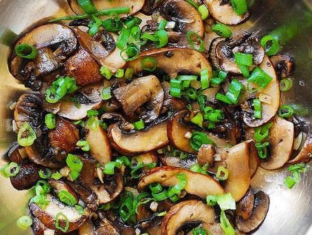 Mushroom & Garlic Sauté