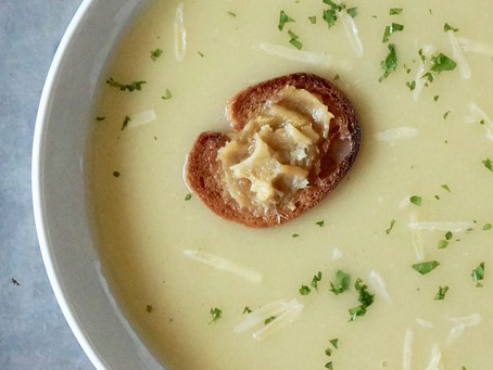 French Garlic Soup