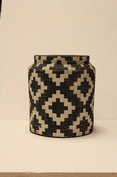 Ceramic Tribal Vase L