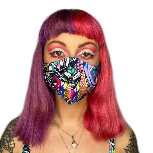 The Lucid Disco Reversible Face Mask