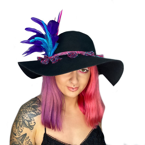 The Galaxy Feather Floppy Hat