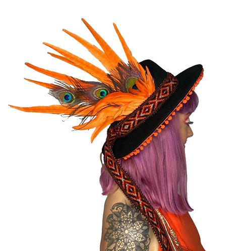 The Simba Feather Trilby Hat