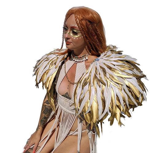 The Island Soul Goddess FeatherEpaulettes
