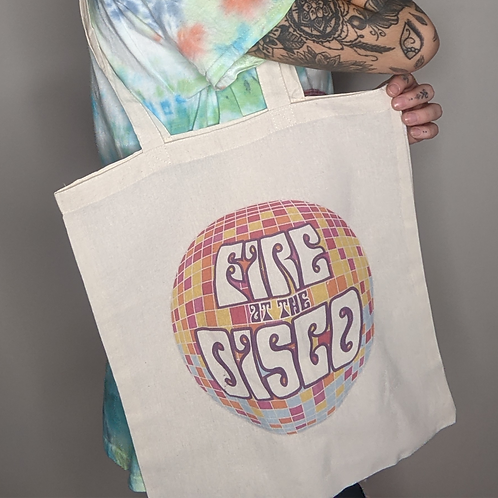 The Fire at the Disco Tote Bag