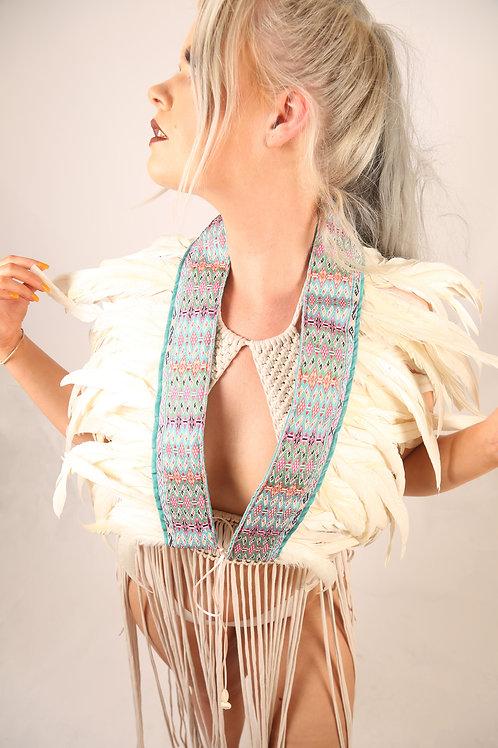 The Jaisalmer Feather Collar