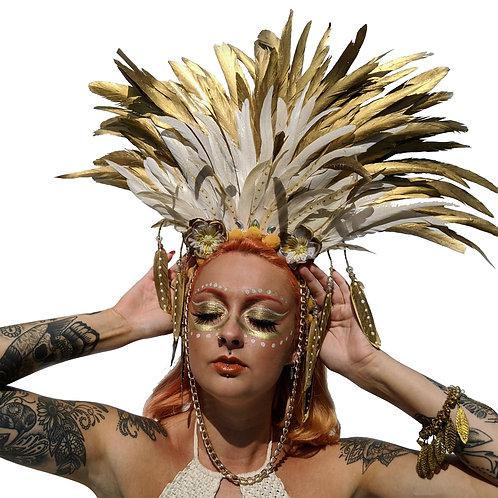 The Island Soul Feather Headpiece