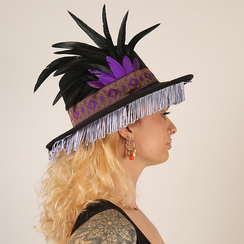 The Jhalawar Feather Trilby Hat